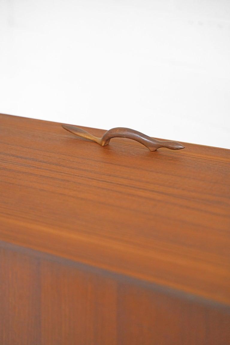 Teak Sideboard by Fredrik Kayser for Gustav Bahus For Sale 6