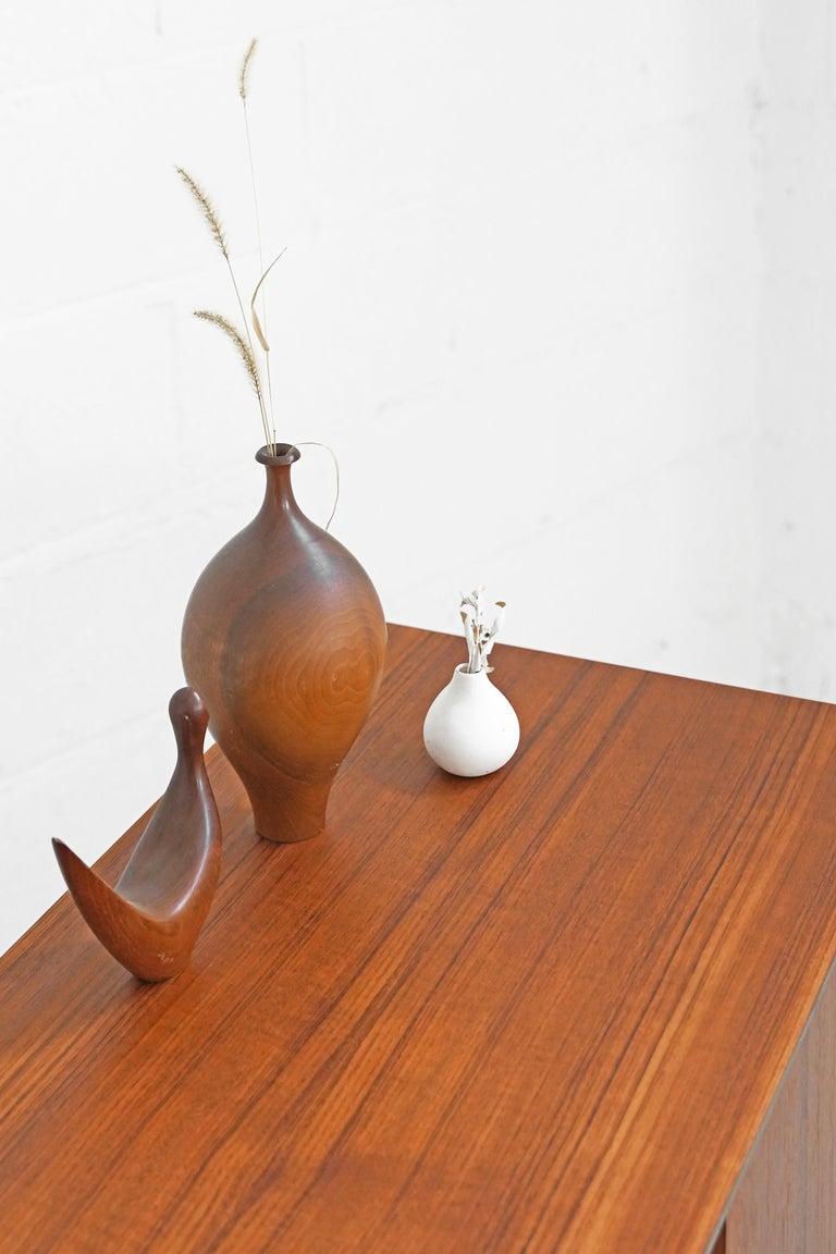 Teak Sideboard by Fredrik Kayser for Gustav Bahus For Sale 7