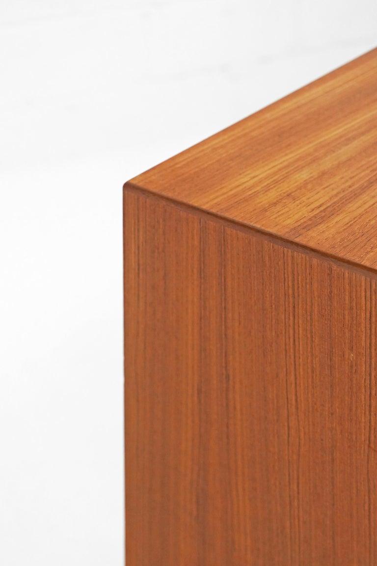 Teak Sideboard by Fredrik Kayser for Gustav Bahus For Sale 8