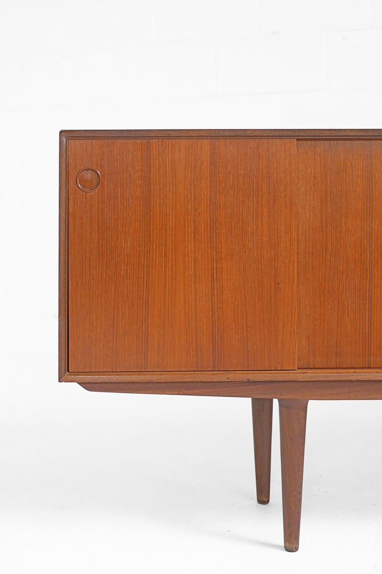 Teak Sideboard by Fredrik Kayser for Gustav Bahus For Sale 9
