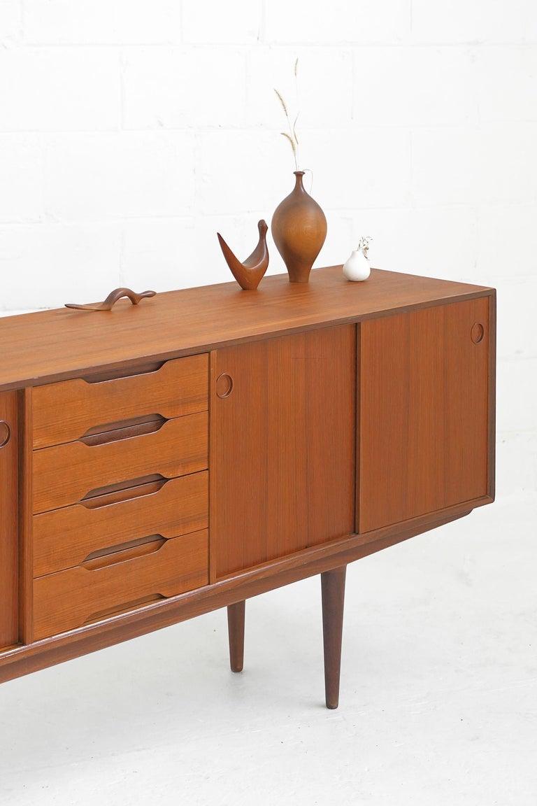 Mid-20th Century Teak Sideboard by Fredrik Kayser for Gustav Bahus For Sale