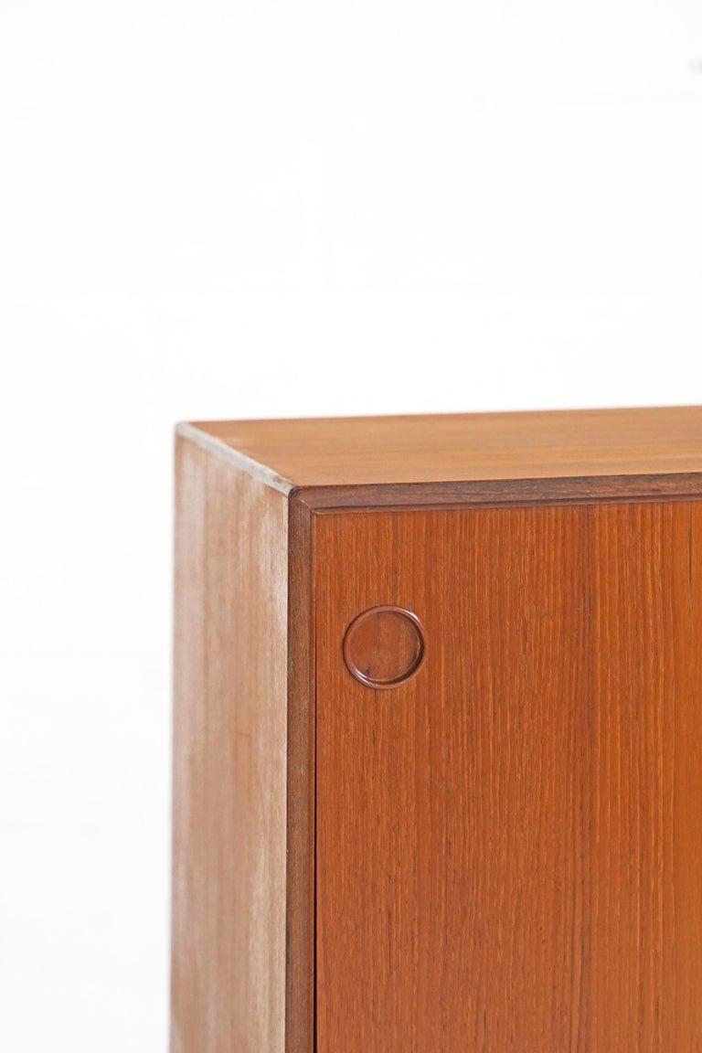 Teak Sideboard by Fredrik Kayser for Gustav Bahus For Sale 1