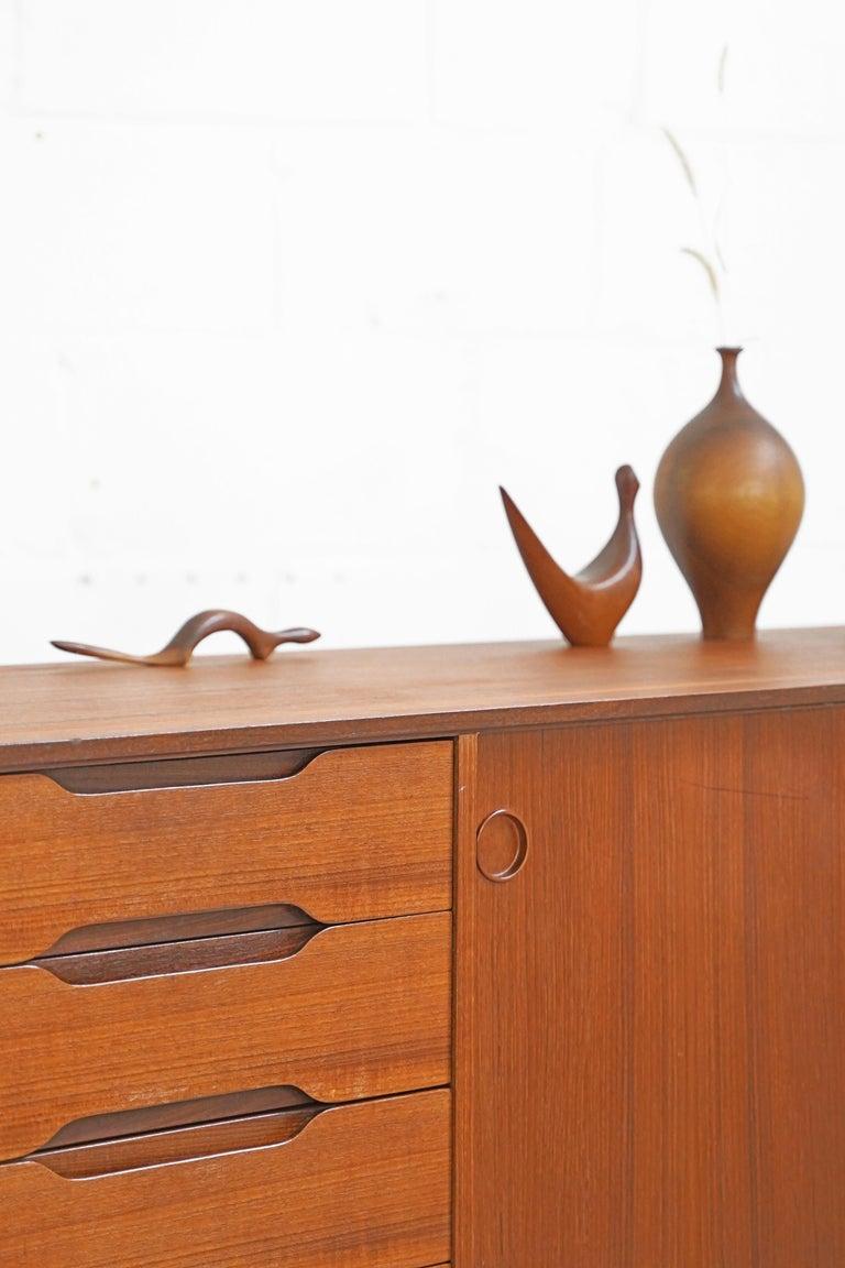Teak Sideboard by Fredrik Kayser for Gustav Bahus For Sale 2