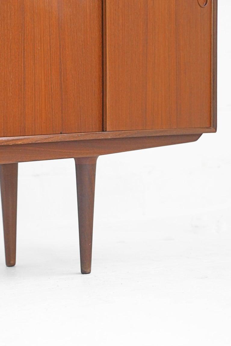 Teak Sideboard by Fredrik Kayser for Gustav Bahus For Sale 3