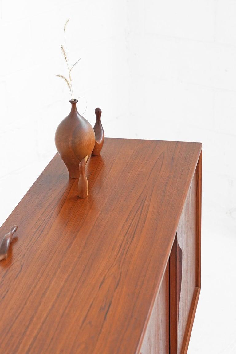Teak Sideboard by Gunni Omann for Axel Christensen For Sale 5