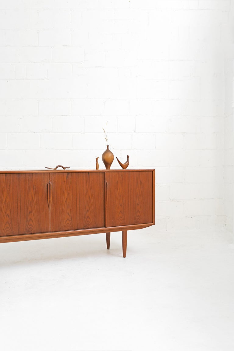 Teak Sideboard by Gunni Omann for Axel Christensen For Sale 7