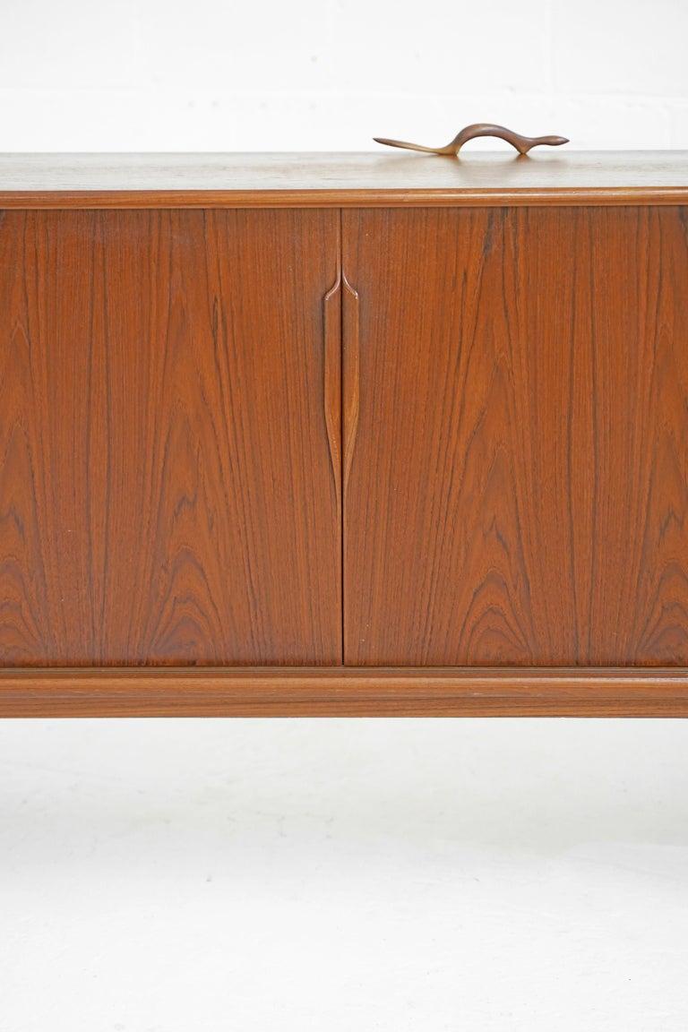 Teak Sideboard by Gunni Omann for Axel Christensen For Sale 8