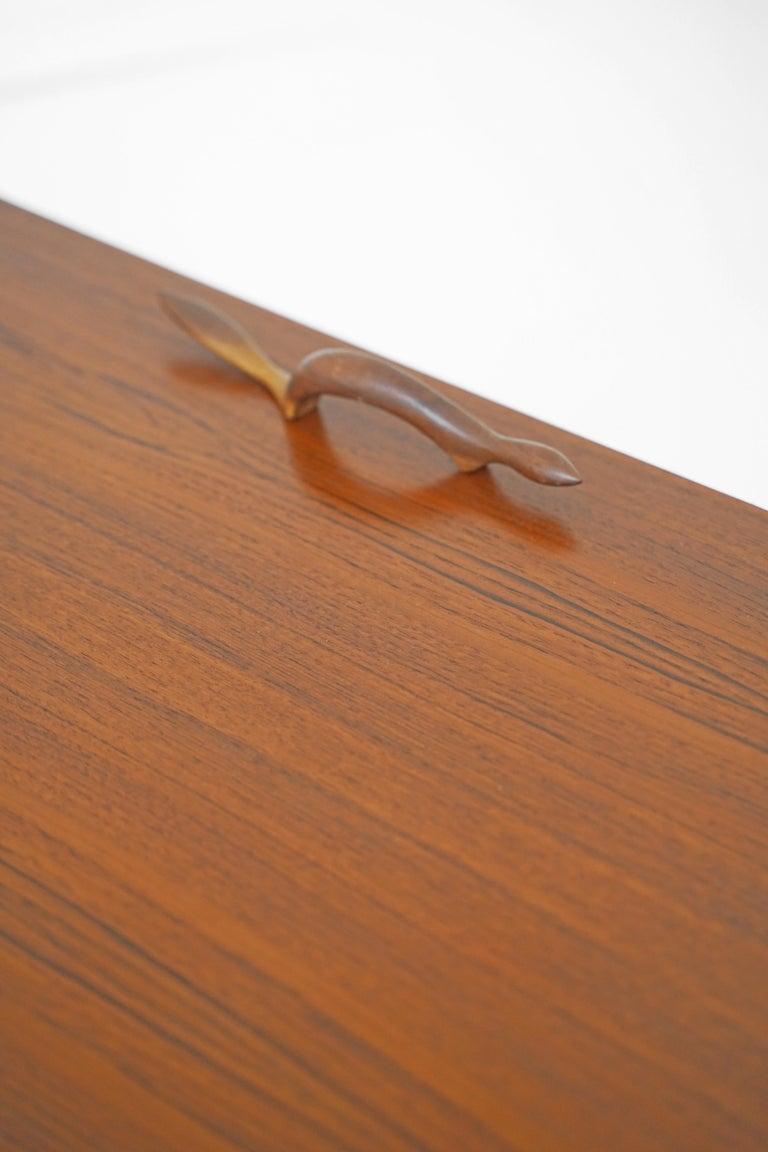 Teak Sideboard by Gunni Omann for Axel Christensen For Sale 9