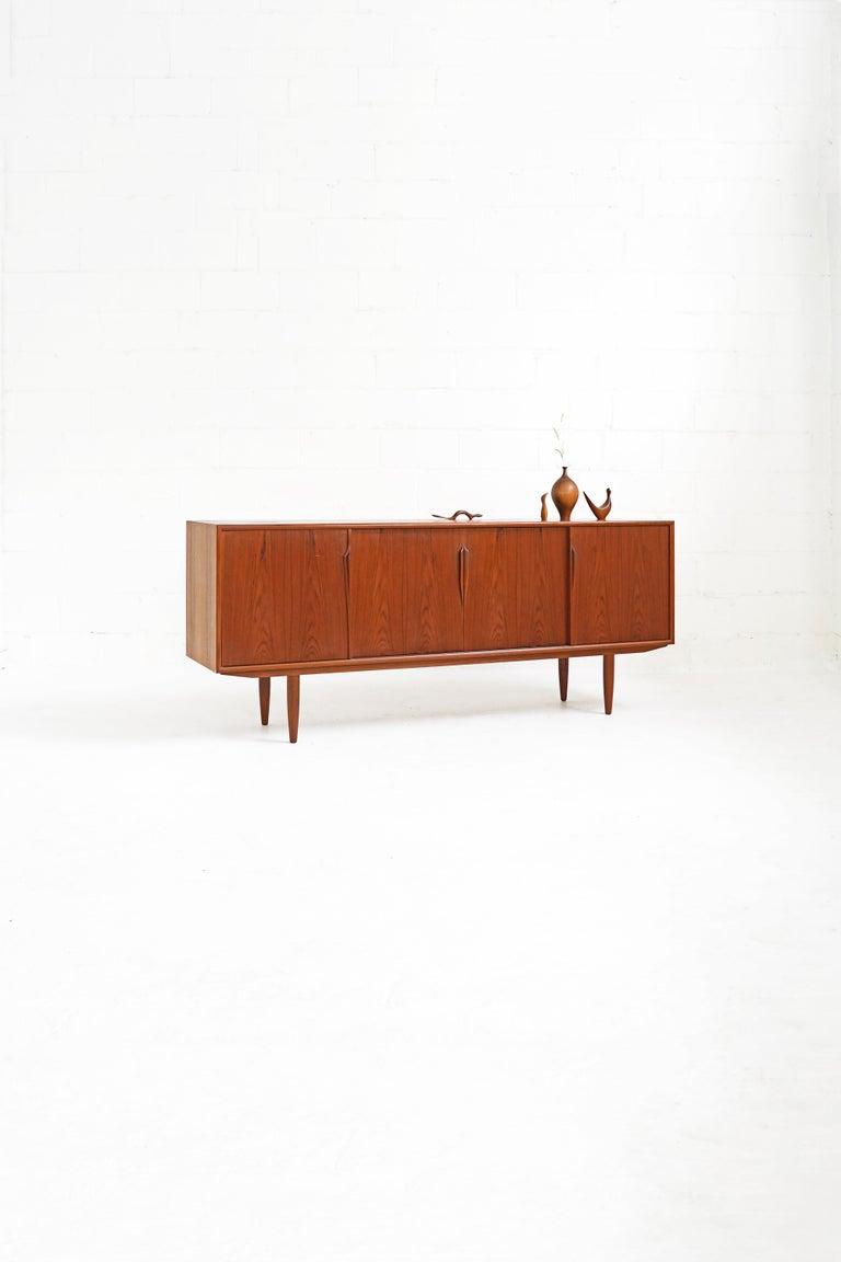 Teak Sideboard by Gunni Omann for Axel Christensen For Sale 10