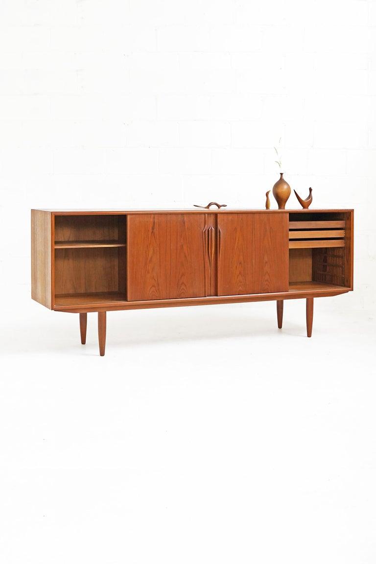 Mid-Century Modern Teak Sideboard by Gunni Omann for Axel Christensen For Sale