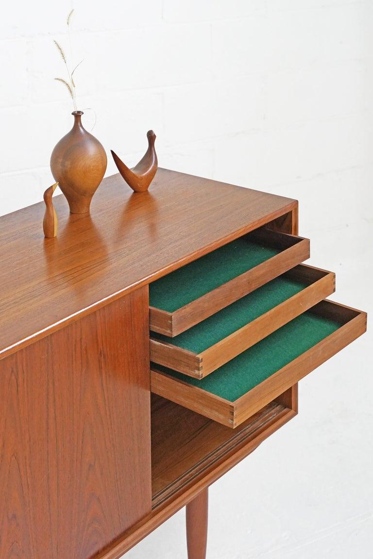 Mid-20th Century Teak Sideboard by Gunni Omann for Axel Christensen For Sale