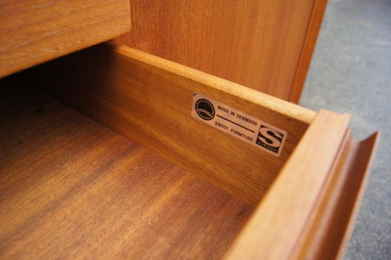 Teak Sideboard, Model 76, by Arne Vodder for Sibast For Sale 2