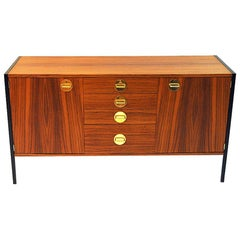 Teak Sideboard Triva by Erik Erik Herløw for NK, Sweden, 1960s