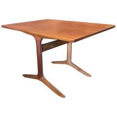 Teak Silver Line Table by Hvidt & Mølgaard-Nielsen