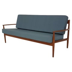 Teak Sofa by Grete Jalk for France and Son, Model 118, Denmark, 1950s