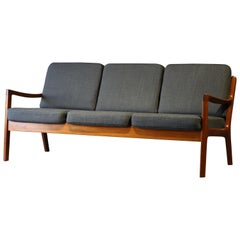 Teak Sofa by Ole Wanscher for France and Son