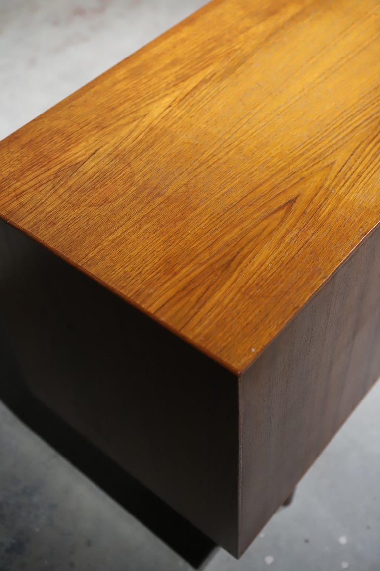 Teak Swedish Credenza or Sideboard For Sale 7