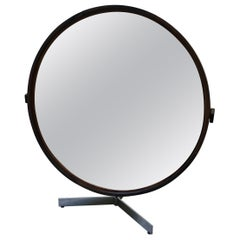 Teak Table Mirror by Uno & Östen Kristiansson for Luxus, 1960s