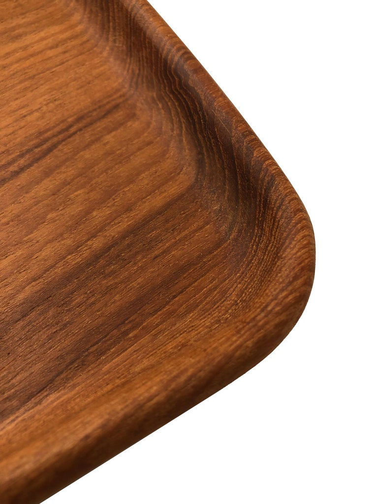 Danish Teak Catch-All Tray by Kay Bojesen For Sale
