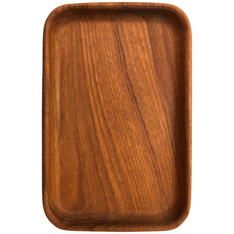 Teak Catch-All Tray by Kay Bojesen For Sale