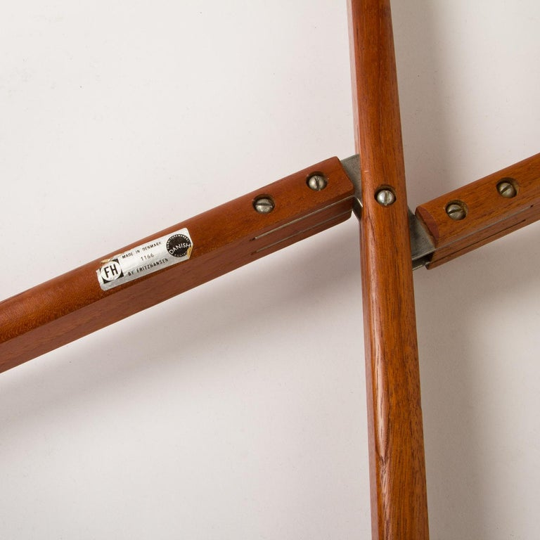 Teak Tray Table by H Engholm and Svend Aage Willumsen for Fritz Hansen, Denmark, For Sale 3