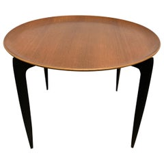 Teak Tray Table by H Engholm and Svend Aage Willumsen for Fritz Hansen