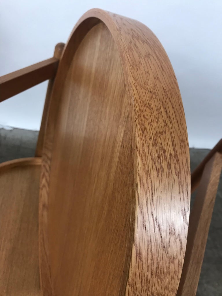 Mid-20th Century Teak Tray Table Made in Denmark Attributed to Hans Bolling, Torben Orskov For Sale