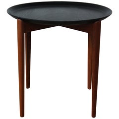 Teak Tray Table, Sweden, 1950s