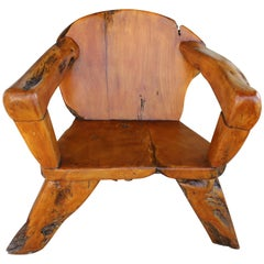 Teak Tree Root Studio Club Chair, #2 of 2