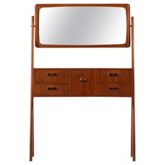 Teak Vanity / Dressing Table Produced in Denmark