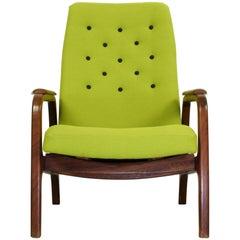 Teak Vintage Armchair Dutch Design, 1960s