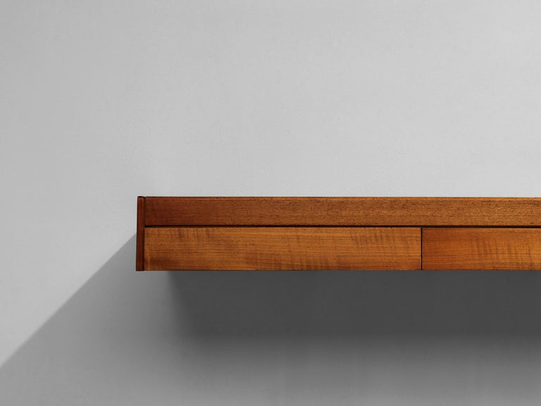 Mid-20th Century Teak Wall Console Robert Heritage For Sale