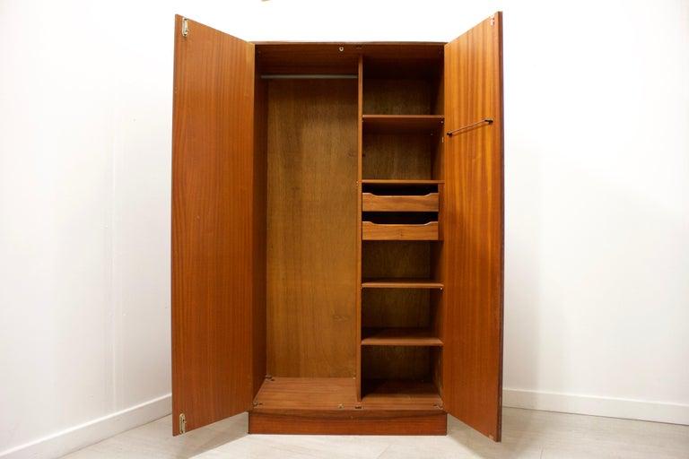 Veneer Teak Wardrobe by VB Wilkins from G Plan, 1960s For Sale