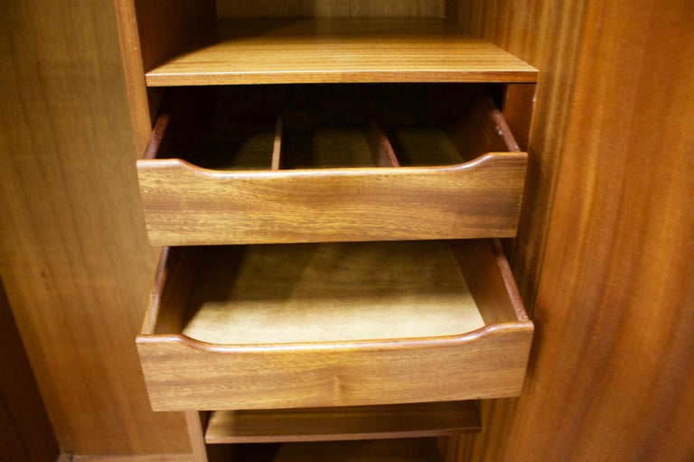 Teak Wardrobe by VB Wilkins from G Plan, 1960s In Good Condition For Sale In South Shields, Tyne and Wear