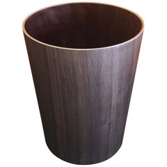 Teak Wastebasket in the Style of Martin Aberg