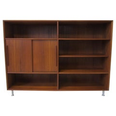 Teak Wood Bookcase made in Denmark in the style of Peter Hvidt