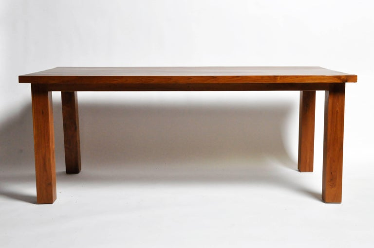 Teak Wood Dining Table For Sale At 1stdibs