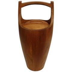 Teak Wood Ice Bucket by Jens Quistaard, Mid-Century Danish Modern