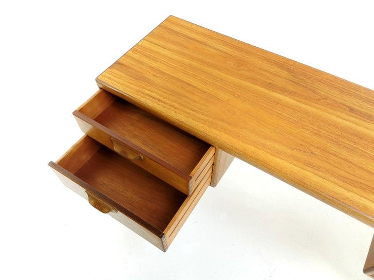 Mid-Century Modern Teak Writing Desk Midcentury Vintage, 1960s-1970s For Sale