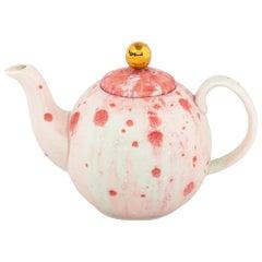 Teapot Hand Painted 10cl Coralla Maiuri Modern New