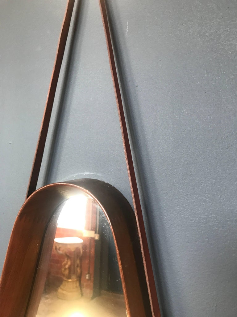 Italian Tear Drop Mirror For Sale