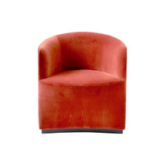Tearoom Club Chair in Red Velvet 'CA7832/062'