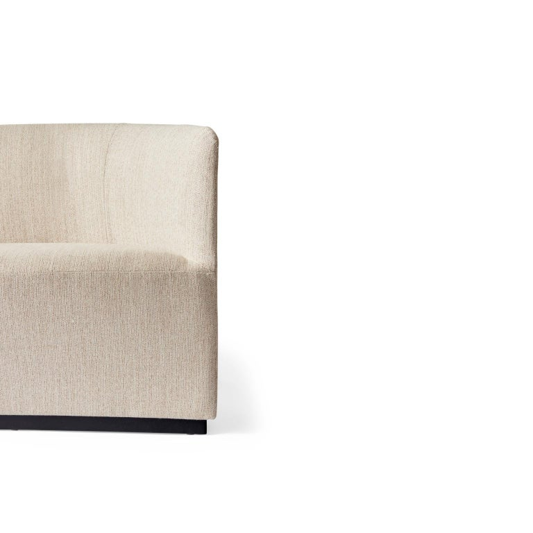 Scandinavian Modern Tearoom Lounge Chair, Kvadrat's