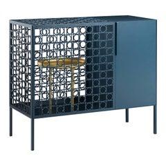 Teca Bar Cabinet
