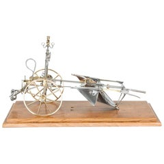 Technical Model of a Plough, French, Dated 1903