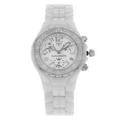 TechnoMarine DTC55C Original Diamonds Chronograph Ceramic Ladies Watch