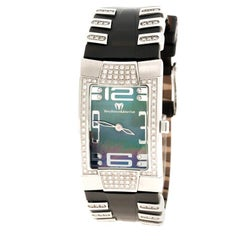Technomarine Mother of Pearl Stainless Steel Diamond Women's Wristwatch 24 mm