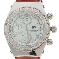 Technomarine Silver Stainless Steel TechnoDiamond Chronograph Women's Wristwatch