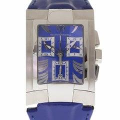 Technomarine XS MAG Cronograph XSCM-02516 Blue Steel Leather 2 Year Warranty