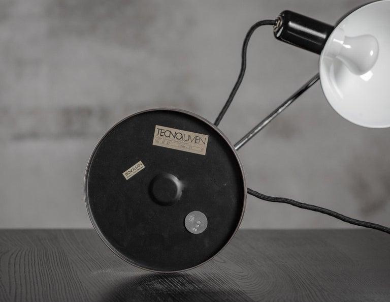 German Tecnolumen Adjustable Desk Lamp For Sale